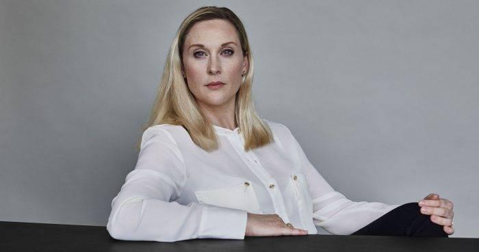 Journalisten och författaren Lisa Bjurwald, aktuell med boken