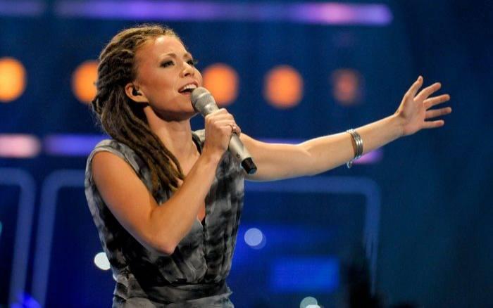 Mariette Hansson i Idol 2009.