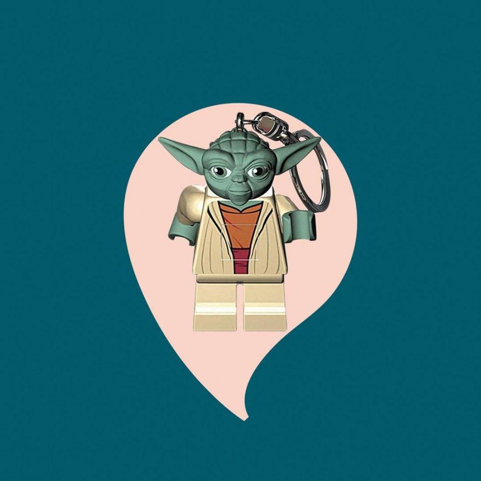 Nyckelring Yoda julklapp