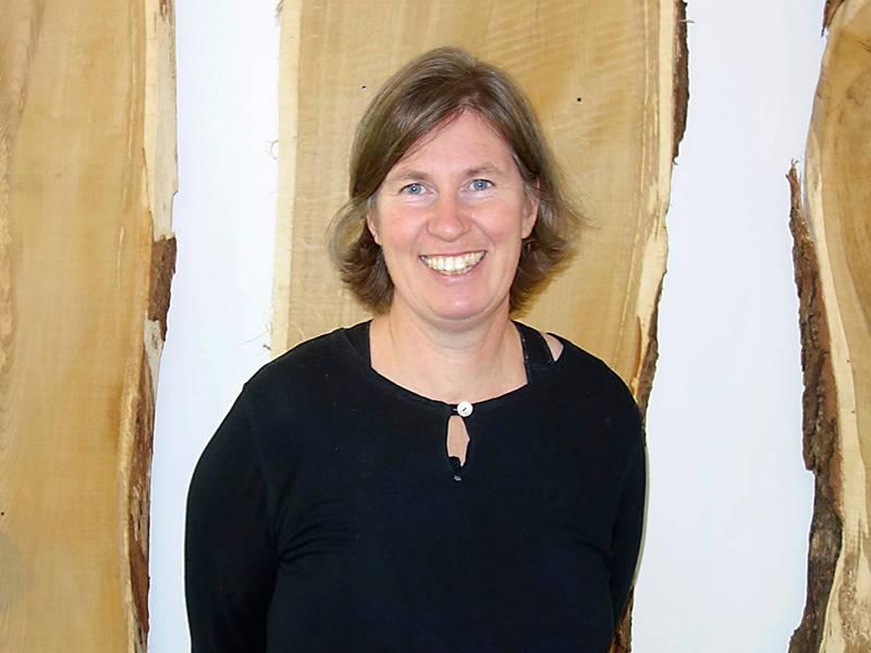 Porträtt av Pernilla Tidåker, forskarepå SLU.