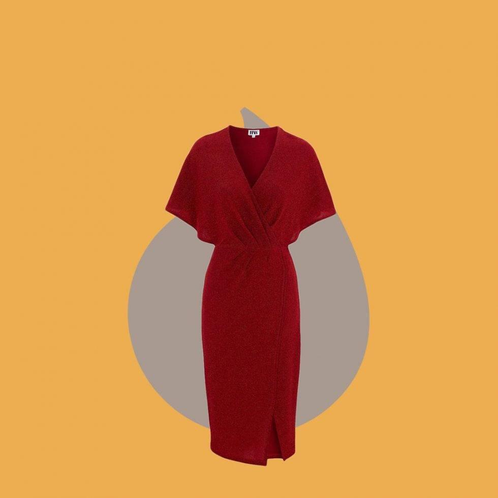 Röd klänning från Make Way