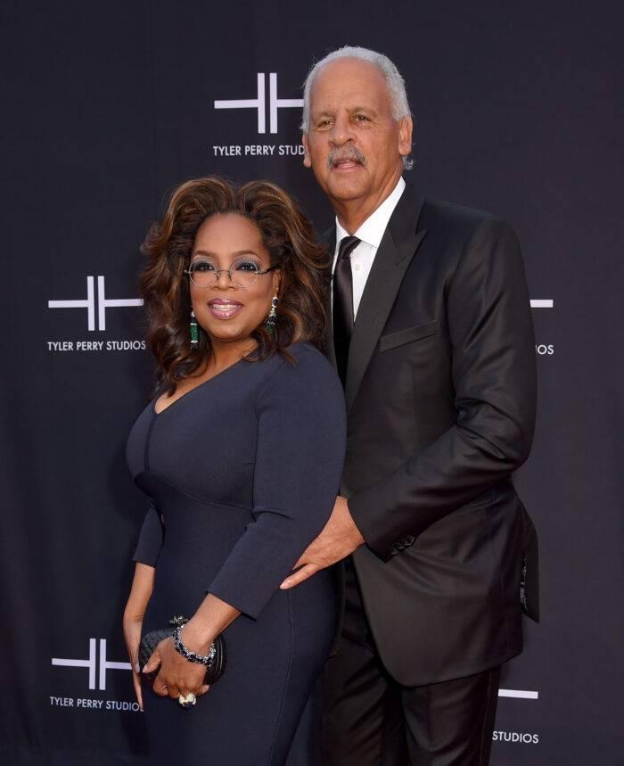 Oprah Winfrey och Stedman Graham.