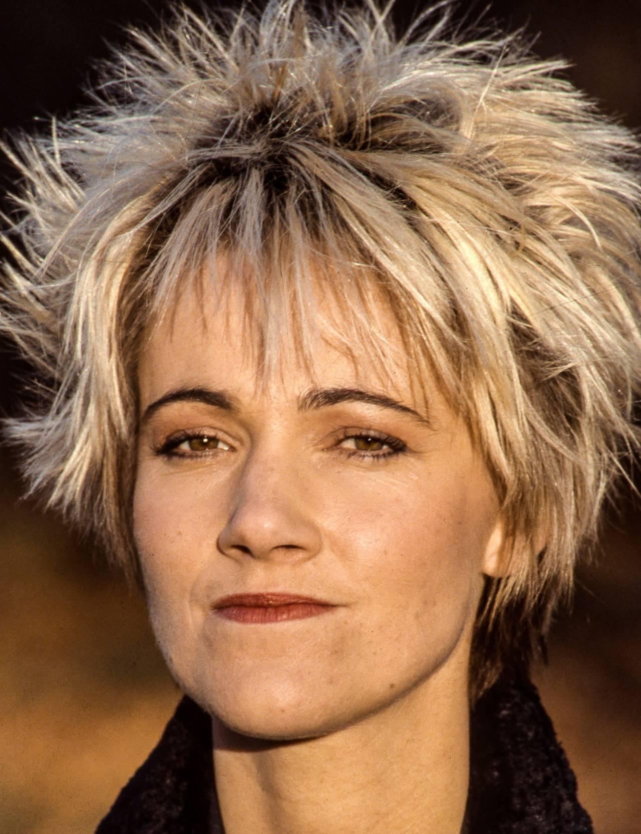 Marie Fredriksson i Roxette år 1987.