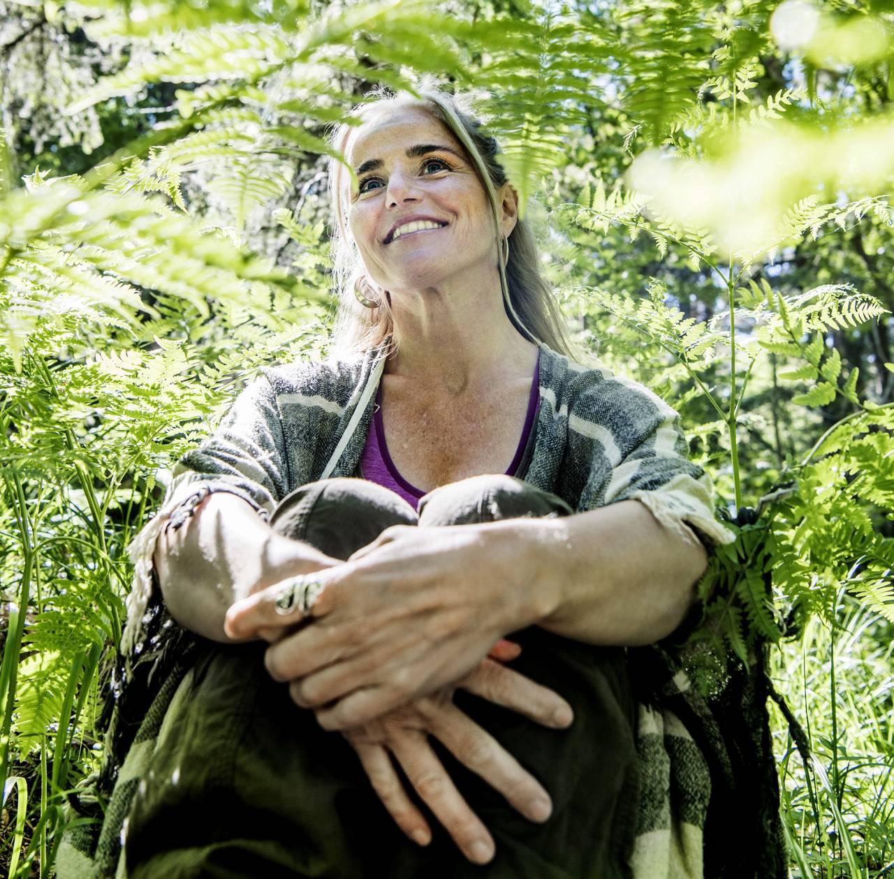 Petra Ellora Cau Wetterholm är psykolog och skogsterapiguide.