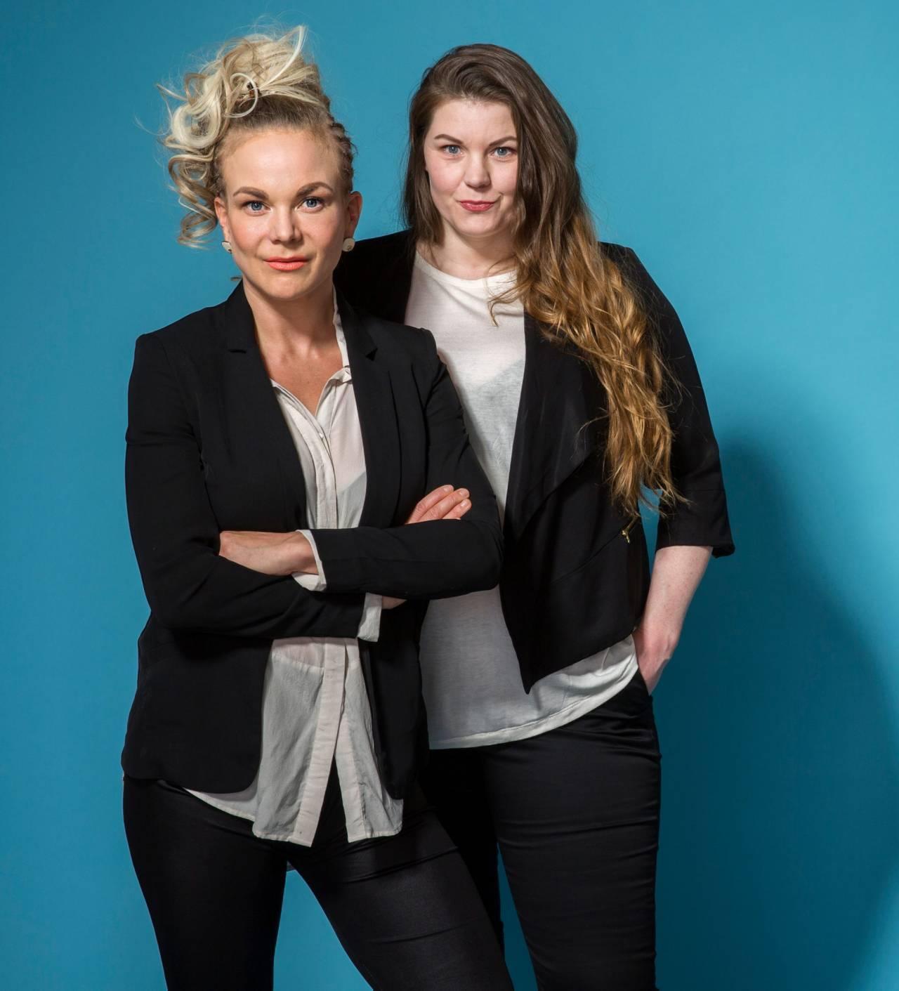 Sofia Jensfelt och Linda Sletvold Amiri startade städföretaget 50-femme tillsammans 2018