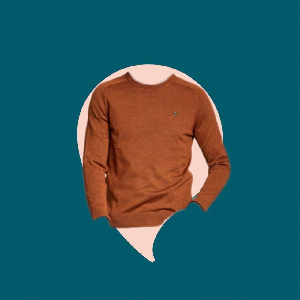 Stickad tröja Åhlens