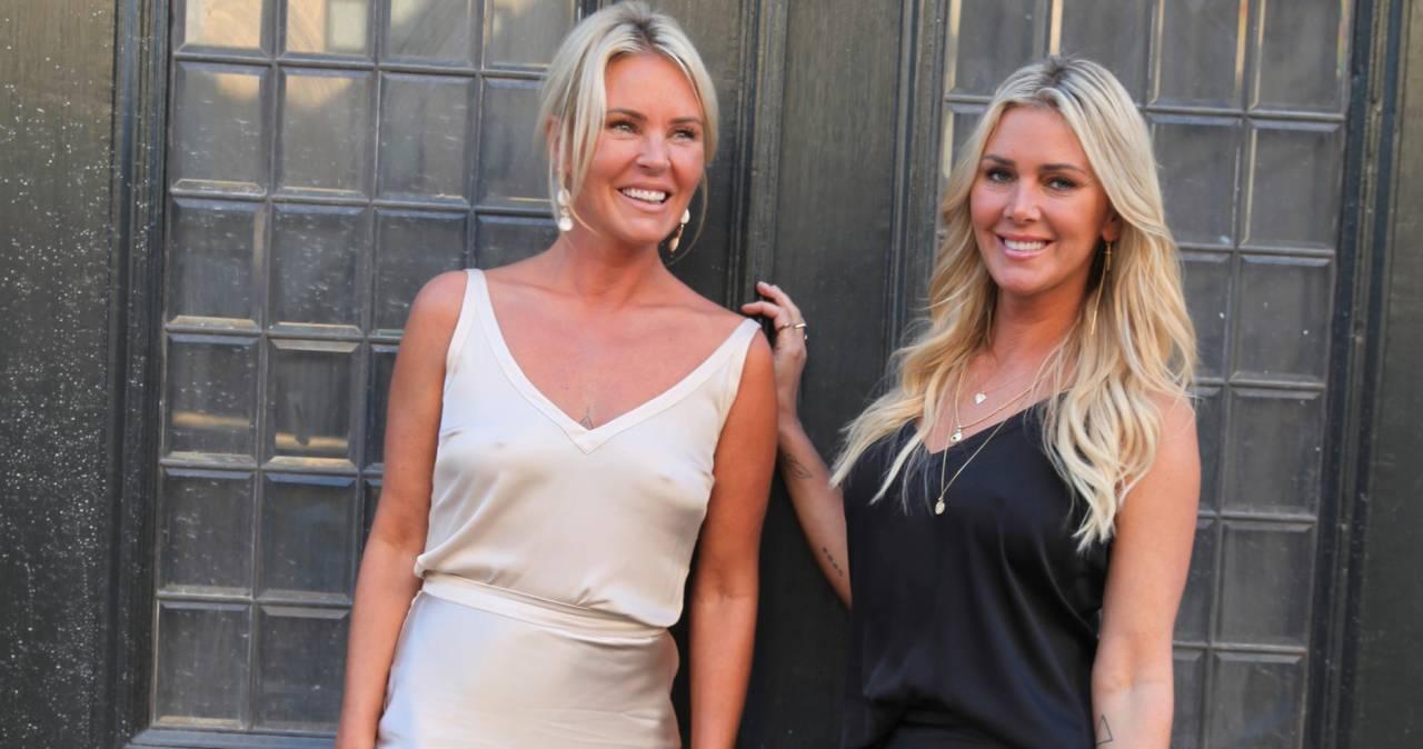 Systrarna Magdalena och Hanna Graaf ler och berättar om sin nya serie