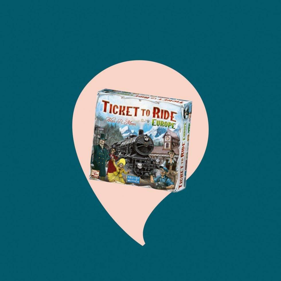 Ticket to ride sällskapsspel till julklapp