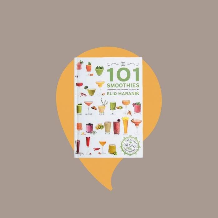 Tips på presenter till julklappsspelet: Kokboken 101 smoothies
