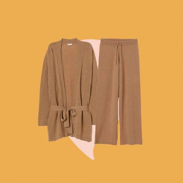 Kashmirkläder från H&M till en nybliven mamma