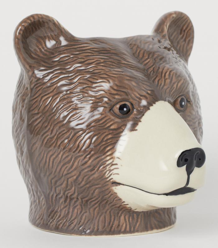 Kruka björnhuvud från H&M Home