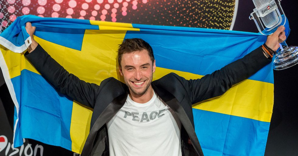 Sverige vinner eurovision