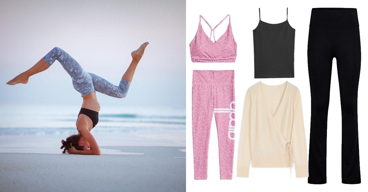 15 trendiga yogakläder du hittar i butik just nu