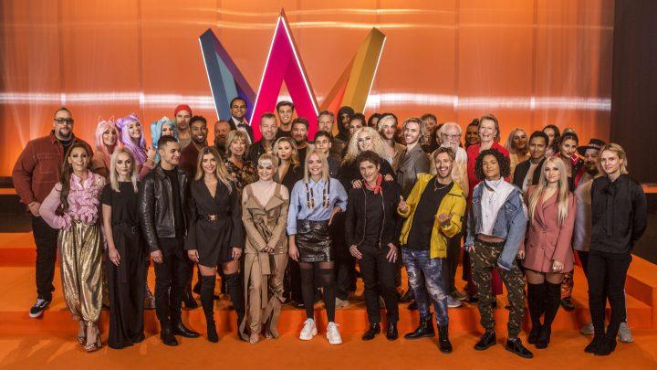 Artister i Melodifestivalen 2019