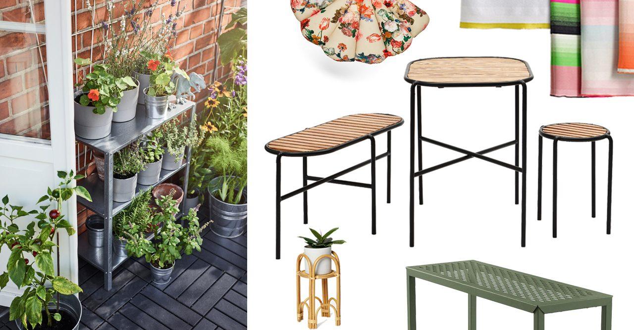 Fint till balkongen – 13 shoppingtips