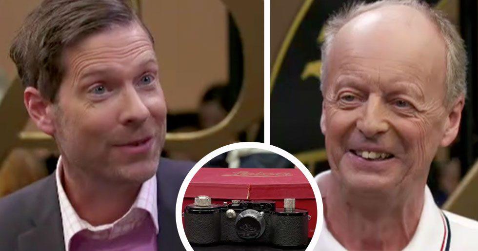 Köpte kamera för 50 kronor – chockad av Antikrundans värdering