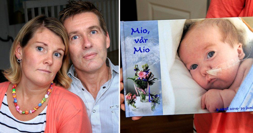 Lotta och Joakim: Vår lille Mio blev bara 3 månader