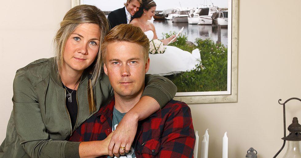 Henrik och Anneli är gifta. han är bipolär.