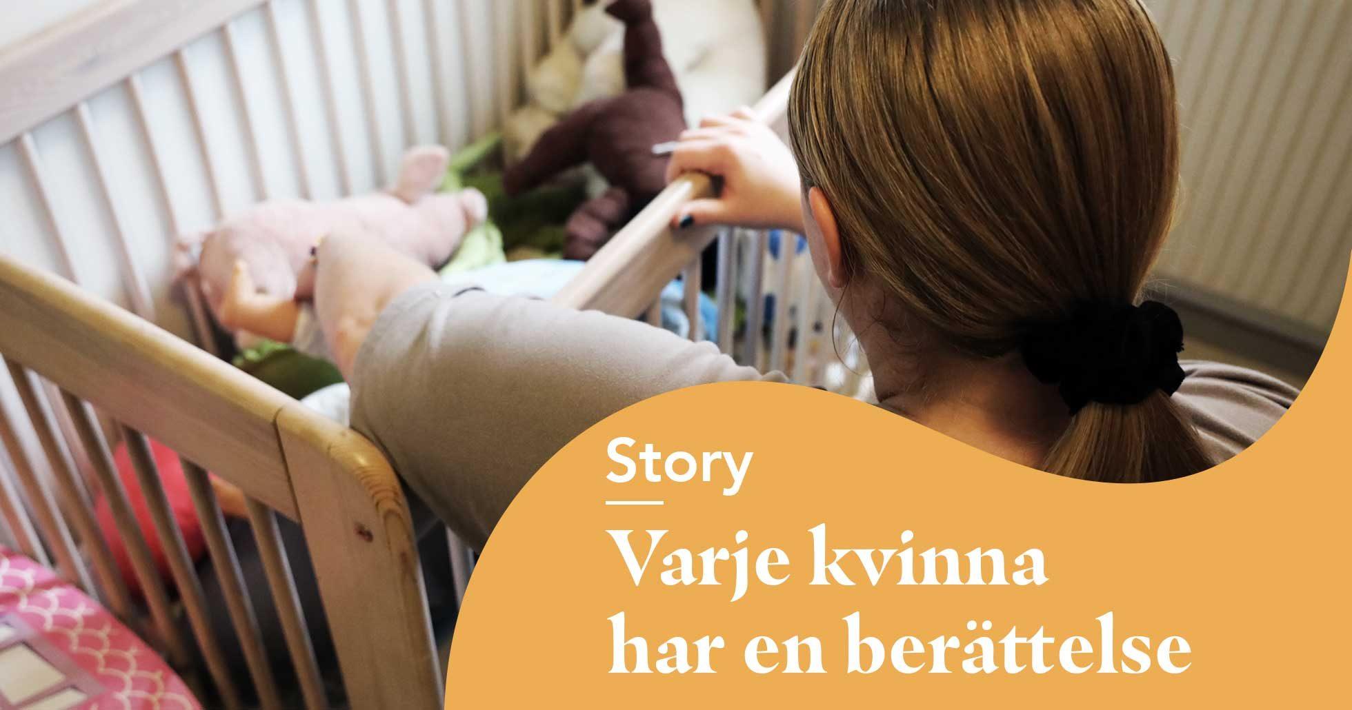 Mammorna i fängelse berättar om livet på anstalt