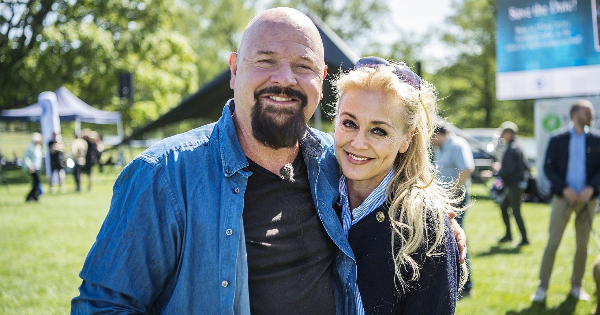 Anders Bagge och Johanna Bagge