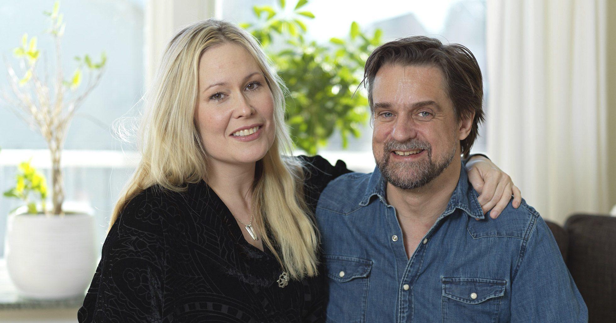 Fredde Granberg lever med hustrun Carola och tre barn