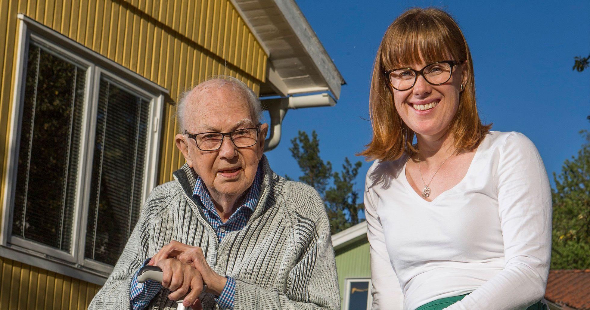 Hanna Sjölund började odla hos en främlig –via Co Grow