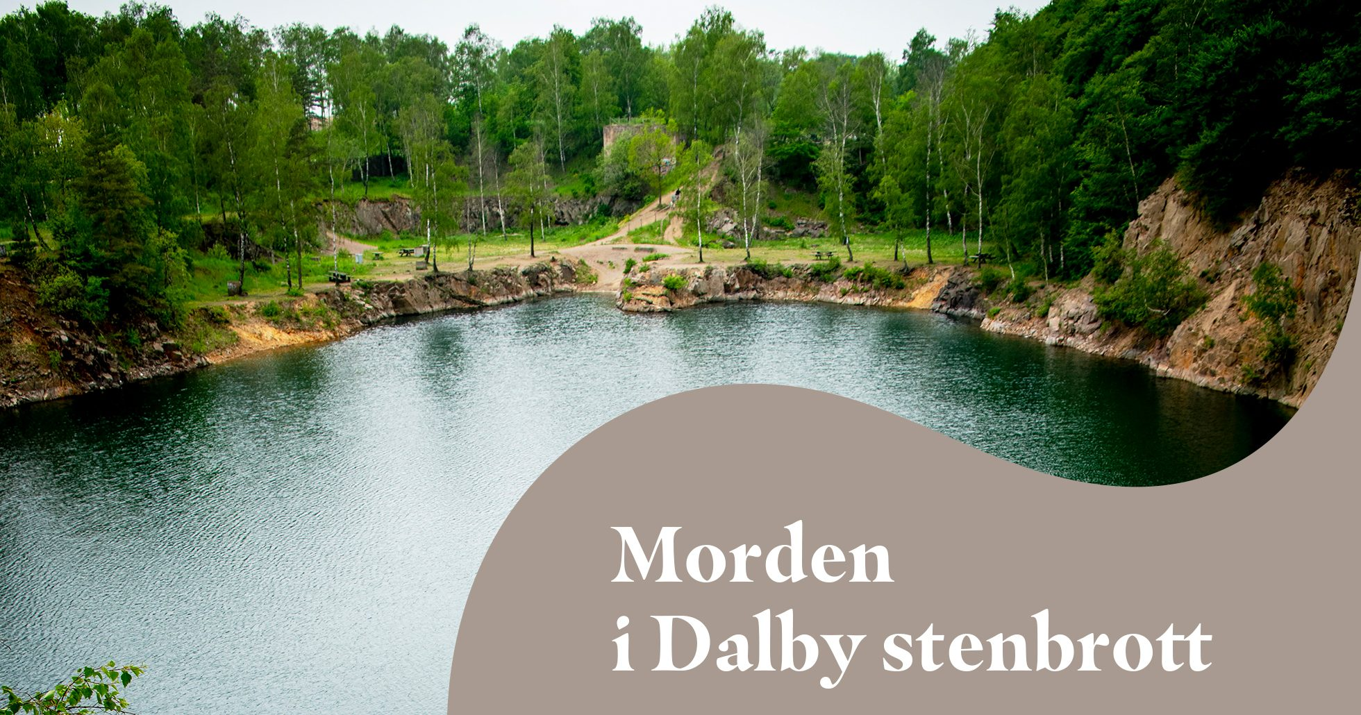 Miljöbild från Dalby stenbrott