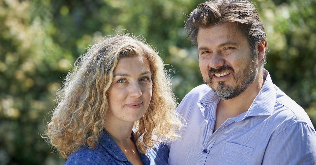 Författaren Frida Skybäck träffade kärleken i London