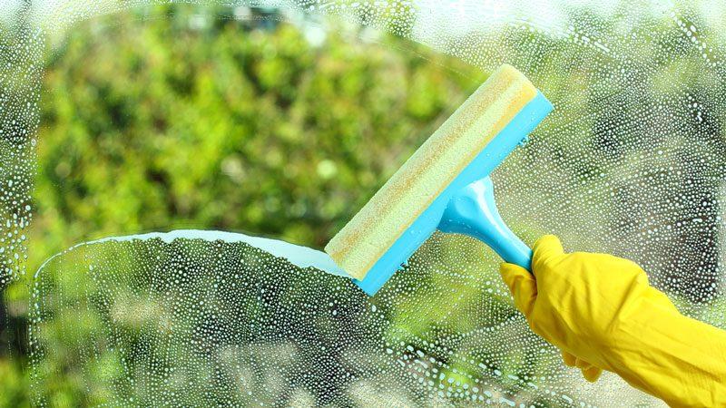 Fem knep för att få rena fönster.