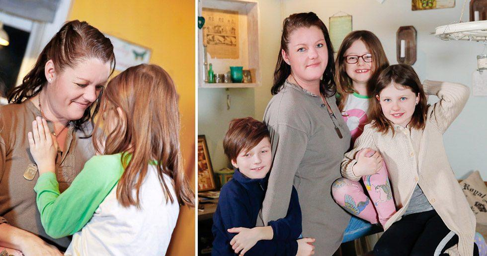 Flora föddes i fel kropp. Mamma Johanna och syskonen Oliver och Lova  stöttar i vått 31a742f8a8988