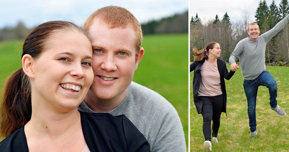 När Joel akut behövde en ny njure ställde hustrun Linda upp. Idag är hans värden lika bra som innan han blev sjuk.