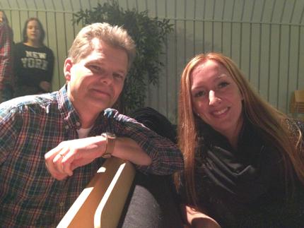 Åke Nilsson och AnnHelen Skeppner.