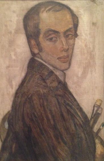 Einar målad av Gerda