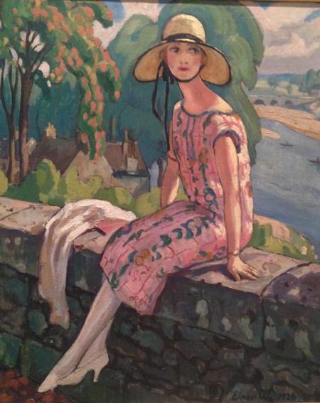Gerda målad av Einar
