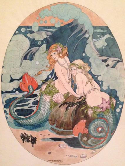 Illustration av Gerda Wegener