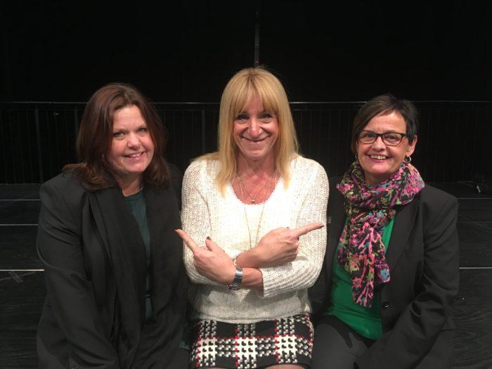 Mia Andreasson, jag och Inga-Karin J Ristenvik