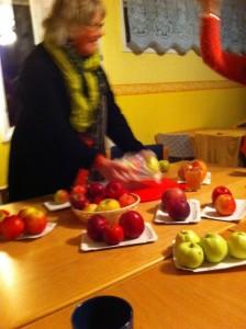 Liten äppleskola!