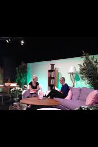 Jag och Lisa Lemke på Kockscenen.
