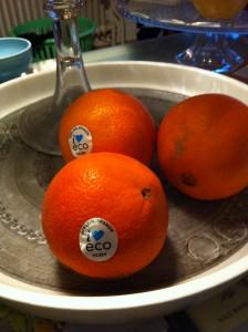 Ekologiska apelsiner
