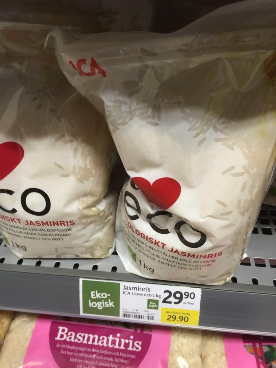 ekologisk mat dyrare