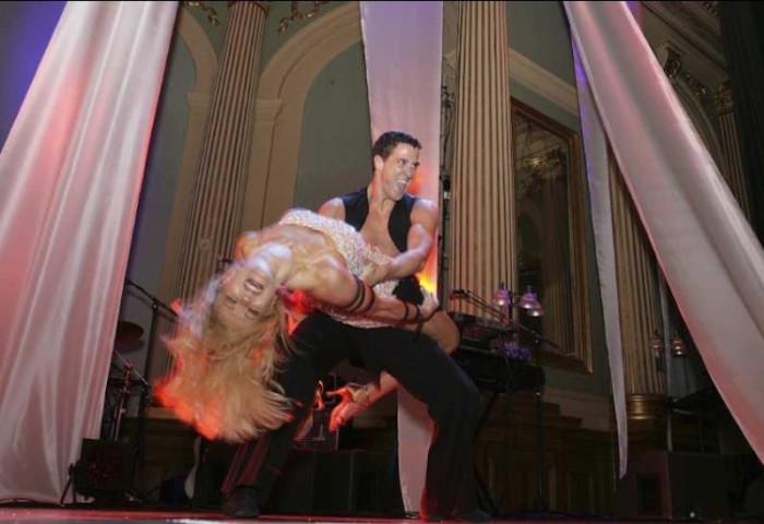 Dansshow Malin David Watson