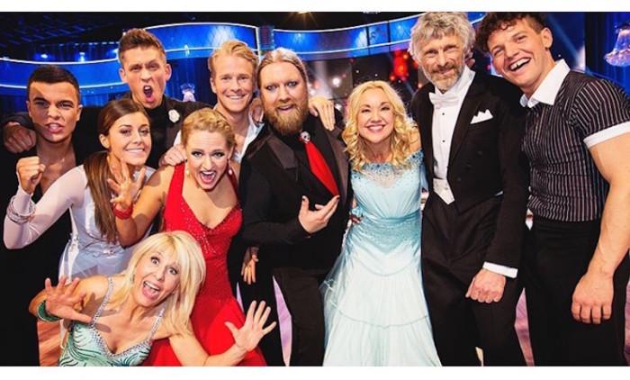 Groupie innan premiären Let´s Dance 2016