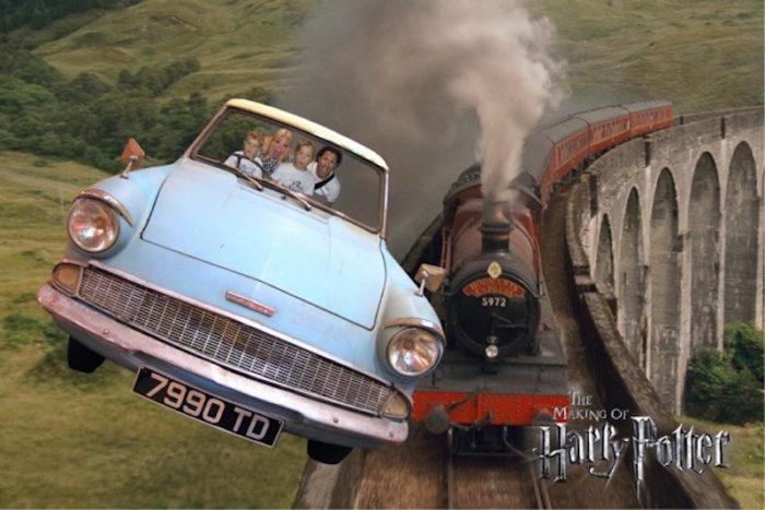 Flying Car Harry Potter Malin David Alex James Watson