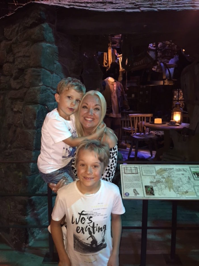 Harry Potter Malin Watson söner