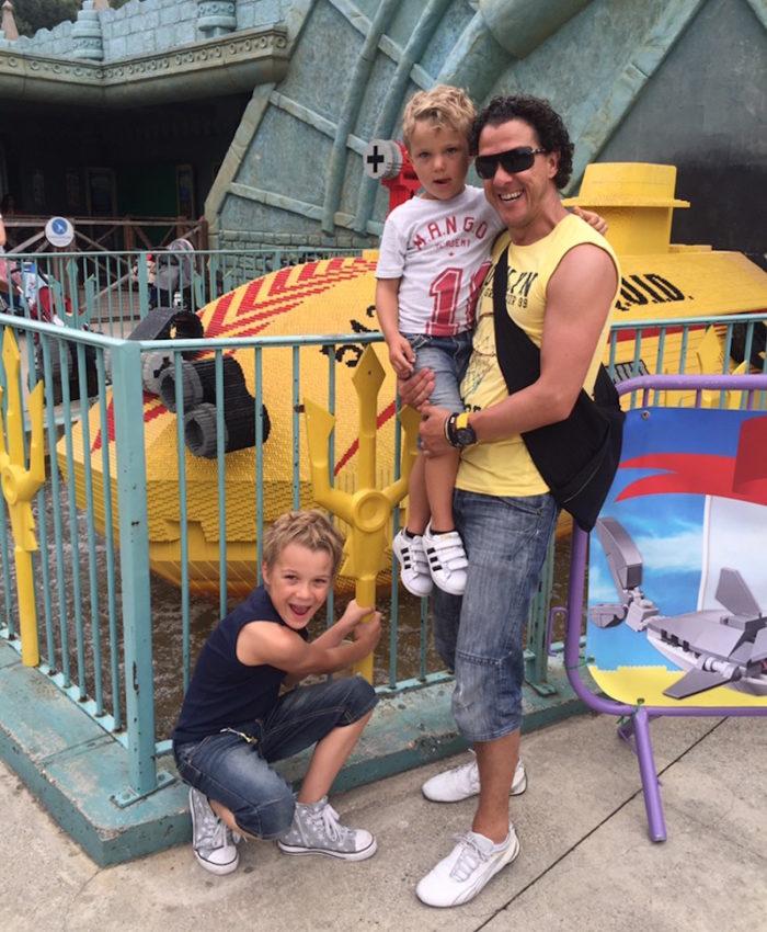 Legoland Holiday England David Watson söner