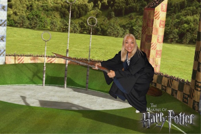Malin Watson Harry Potter Broom London