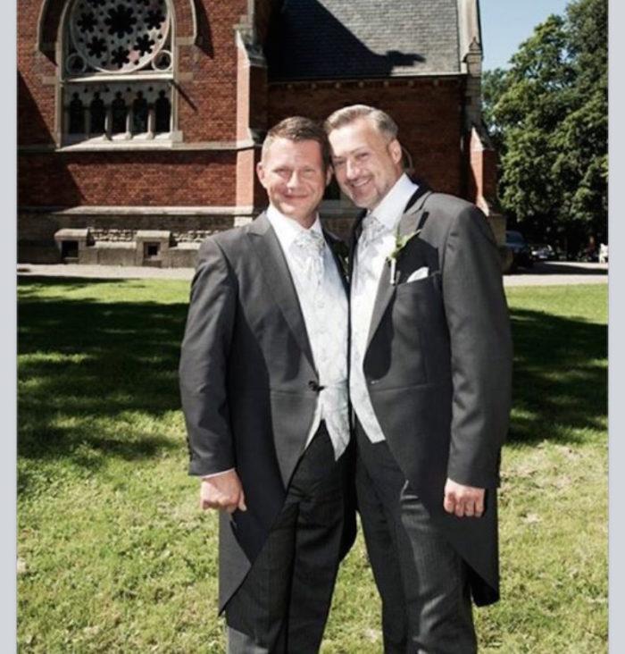 Bröllop Tony Irving Alex Sköldsparr