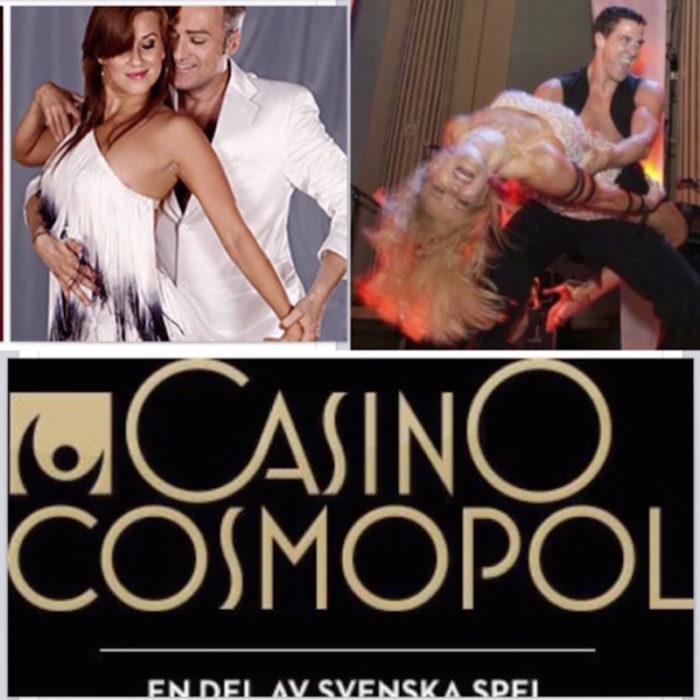 Casino Cosmopol Danshow Tony Irving Malin Watson Cecilia Ehrling David Watson