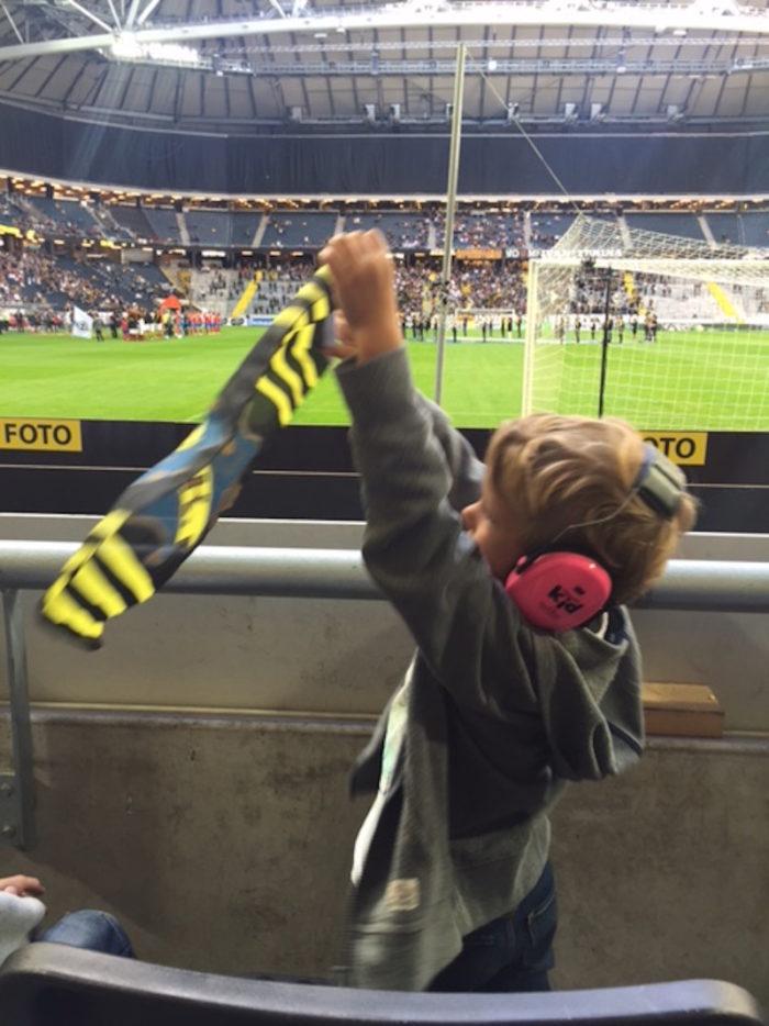 James Watson AIK match