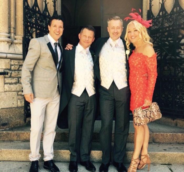 Wedding Tony Irving Alex Sköldsparr David Malin Watson